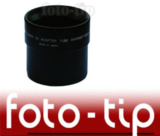 Lens Adapter for Canon G5 - to mount 52mm filters and auxiliary lenses