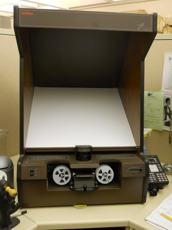 microfilming machine