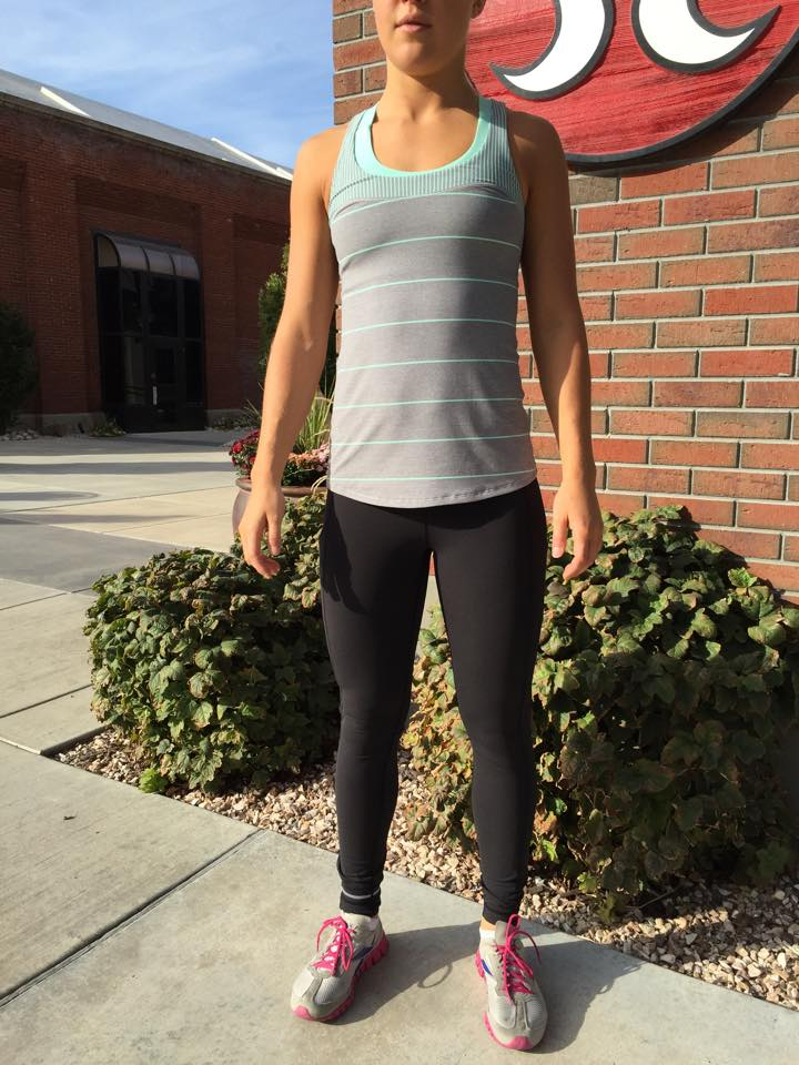 lululemon speed pant first base tank