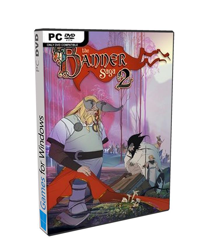 The Banner Saga 2 poster box cover