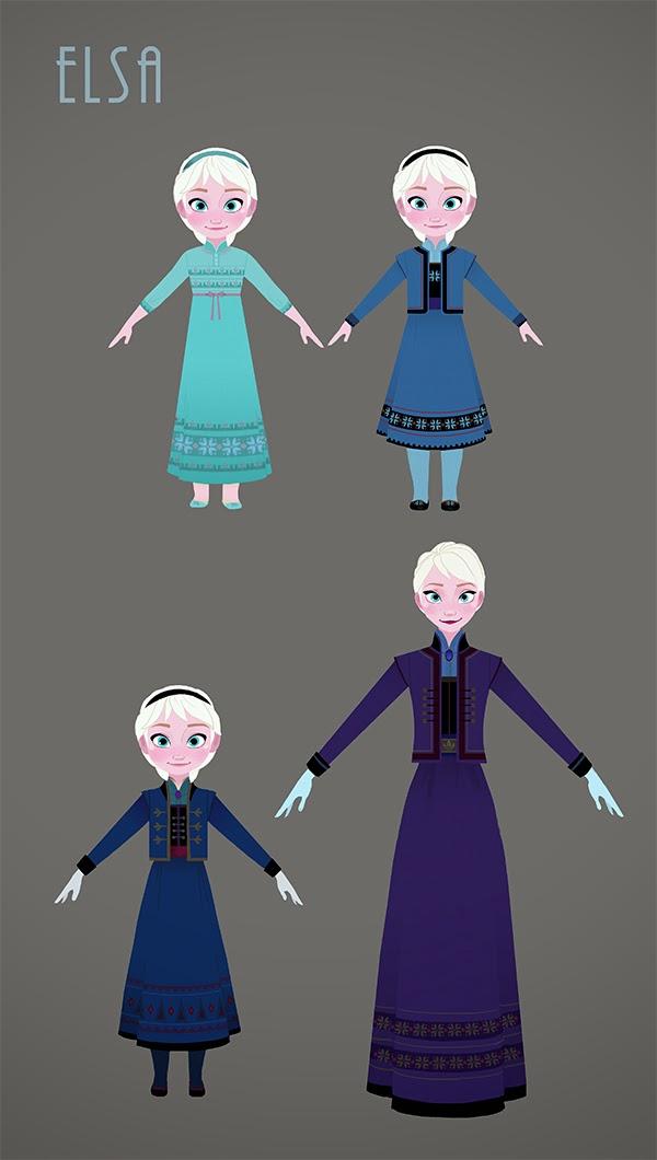 Impression 3D de Elsa from 2013 Frozen par SkullKill