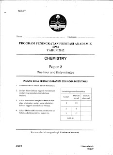 Related Posts : Chemistry SPM, Science, Various Subjects