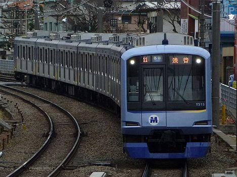 東急東横線 各停 渋谷行き Y500系