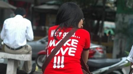 Slogan Make love