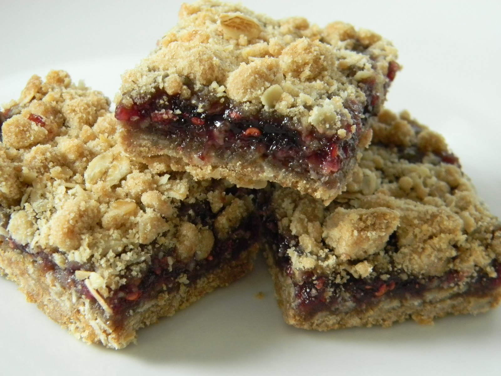 Recipes from the Pickle Boat: Raspberry Oatmeal Bars