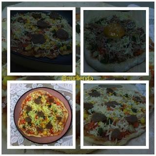 Pizza Pan Homemade menggunakan Lock & Lock E-Cook Deco Fry Pan