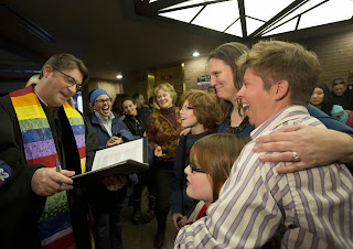 pastor performs marriage for same-sex couple in Utah