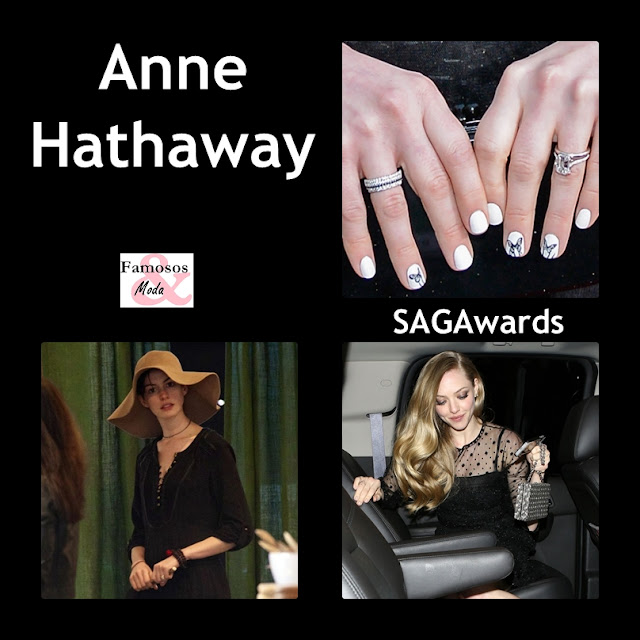 FAMOSOS Y MODA: Anne Hathaway, Sus Uñas Y Sus Paseos