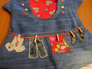 patchwork bolsas de pinzas