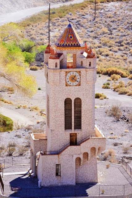 Scotty's Castle Clock Tower 6476