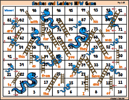 Free Snakes and Ladders HFW Game
