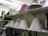 I also checked out the lamp shades, I need some new ones.