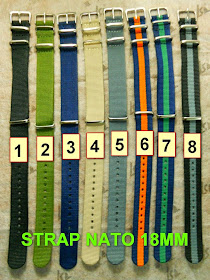 STRAP NATO NYLON JAMES BOND