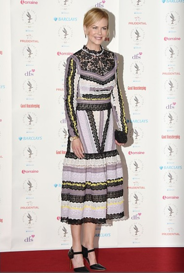 Nicole Kidman In Erdem At The Women Of The Year Lunch And Awards