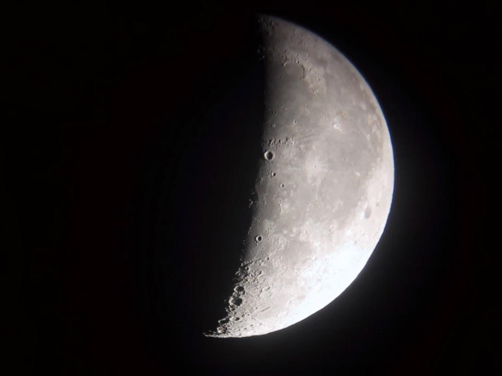 Atachi actividades y talleres de astronom a en centros for Estamos en menguante o creciente