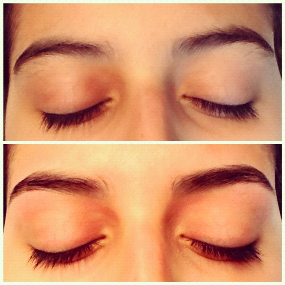 Vicky Brown Hair And Make Up Eyebrow Sculpting Before And After