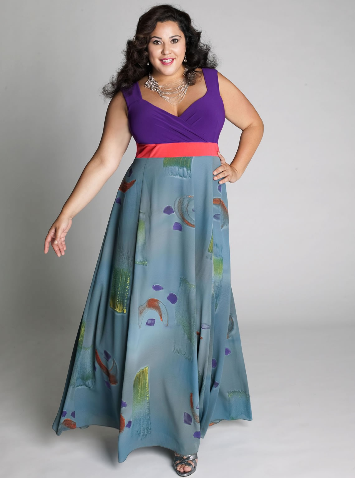 Cheap cute plus size maxi dresses