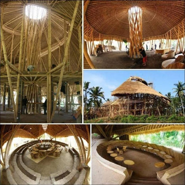 Green School in Bali, Indonesia