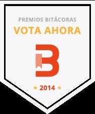 PREMIOS BITÁCORAS 2.014