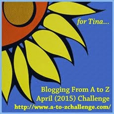 I'm participating in the Blogging A to Z Challenge!