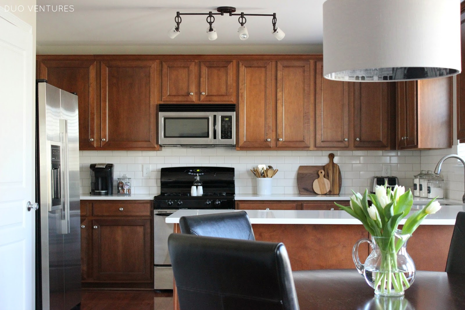 duo ventures: kitchen makeover: final reveal!