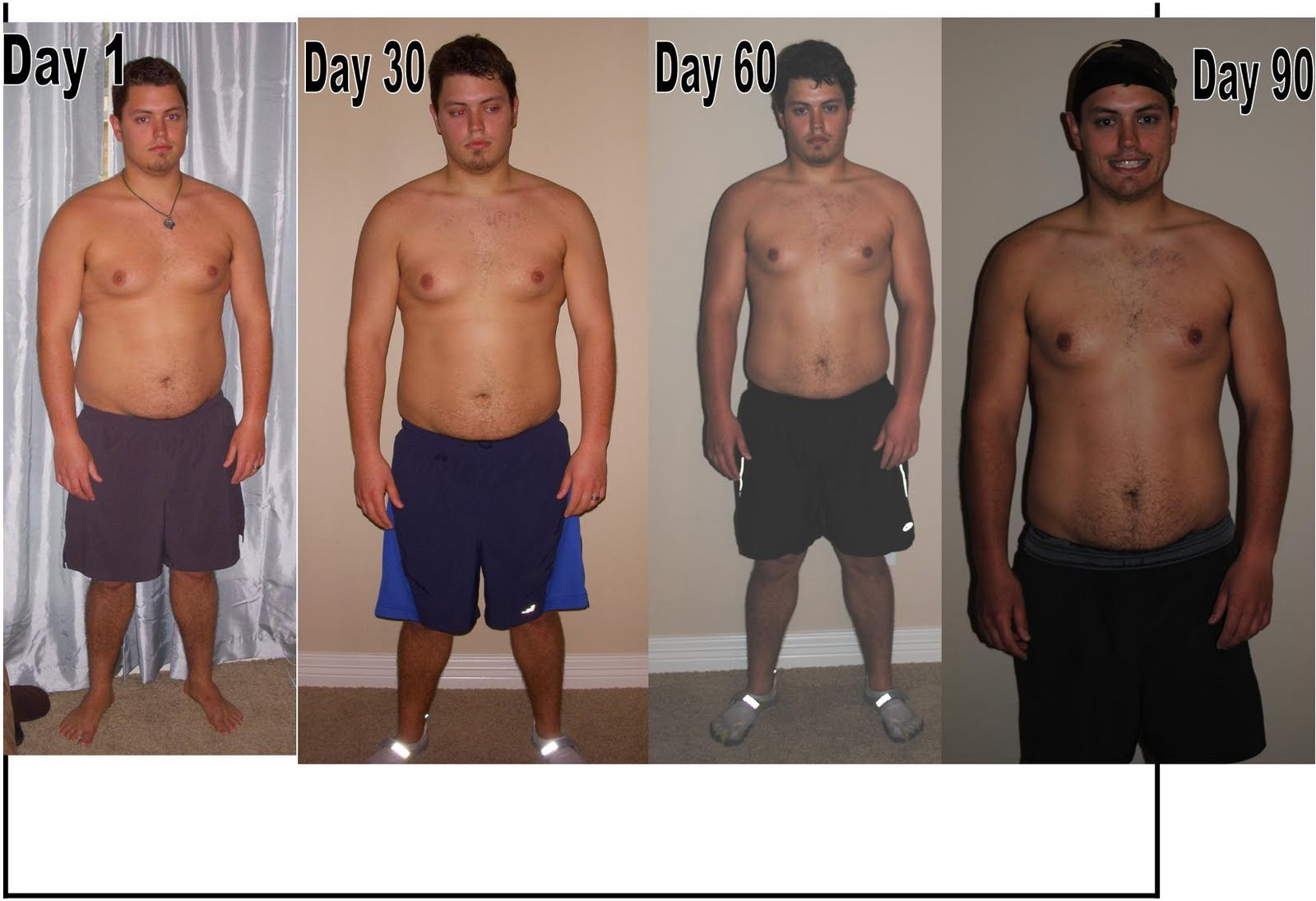 P90x Doubles Before And After P90x program results