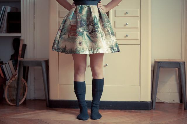 jupe tapisserie Monsieur D