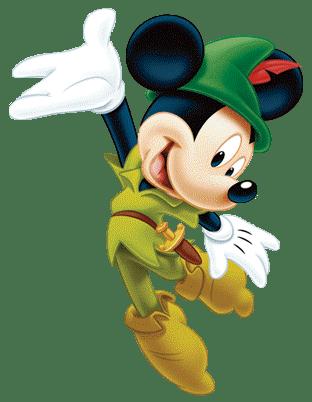 Mickey de robin hood