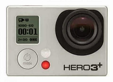 Harga dan Spesifikasi GoPro Action Camera Hero3+