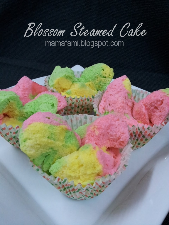 Blossom Steamed Cake Recipe