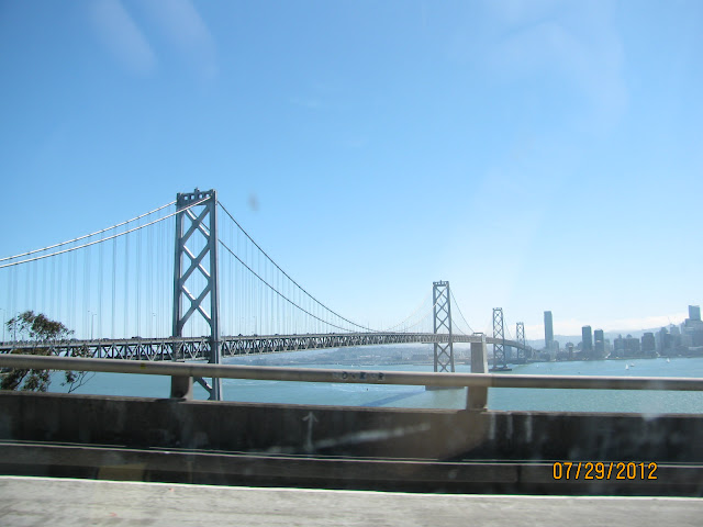Treasure Island View of Bay Bridge