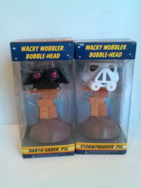 Picture of Angry Birds Star Wars Wacky Bobble Heads