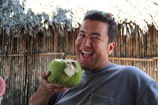Damn that coconut was good. Yay!