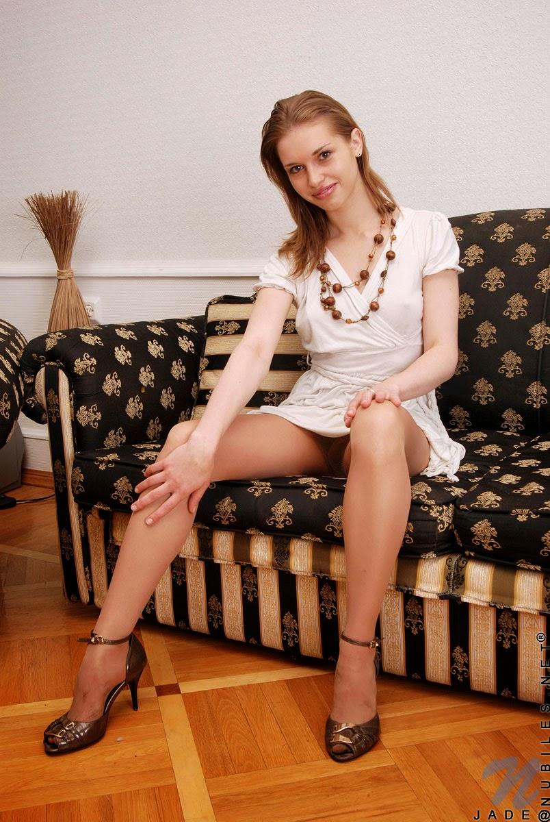 Shiny Pantyhose Legs 81