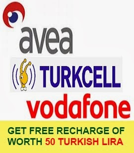 Turkey Free Mobile Recharge