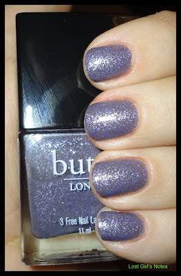 Butter London no more waity katie nail polish swatches and review
