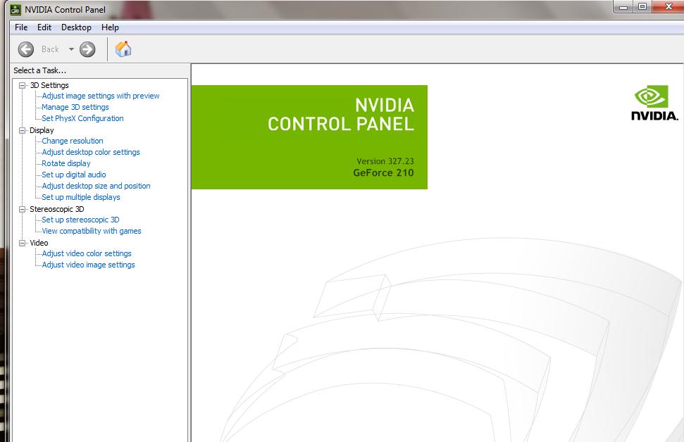 Driver VGA Nvidia
