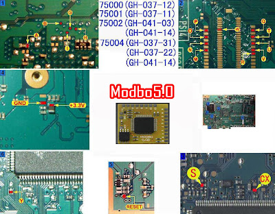 Pasang Modbo 5.0 di PS2 SCPH 7500X
