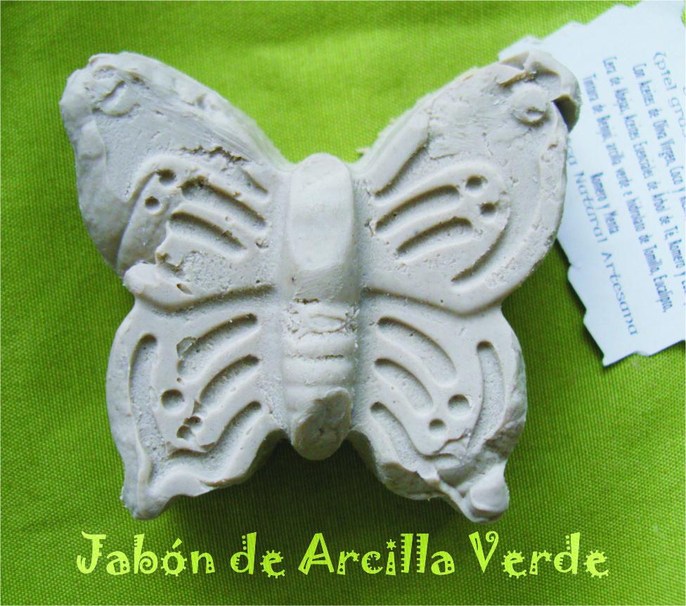 Cosmética Natural Artesana: Jabón de arcilla verde (pieles ...