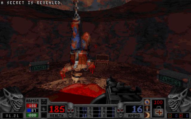 Blood Dark Carnival Duke Nukem secret room