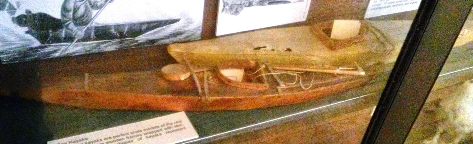 Greenland Inuit kayak models