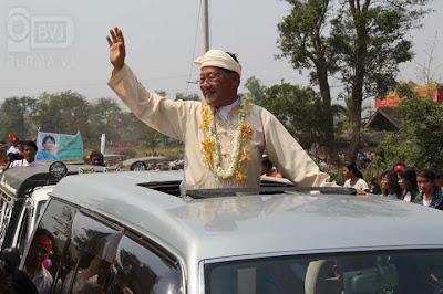 ေဒၚေအာင္ဆန္းစုၾကည္ လားရွဳိးၿမိဳ႕ မဲဆြယ္စည္းရုံးေရး ခရီးစဥ္ – NLD campaign in Lashio