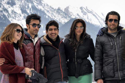 Deepika Padukone and Ranbir Kapoor in Pahalgam for shoot of  Yeh Jawani Hai Deewani!