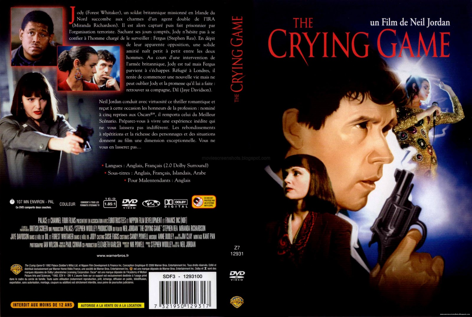 an analysis of gender identity in the crying game a film by neil jordan The crying game is a 1992 english-language thriller film written and directed by neil jordanthe film explores themes of race, gender, nationality, and sexuality against the backdrop of the troubles in northern ireland.
