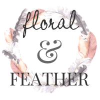 Floral and Feather