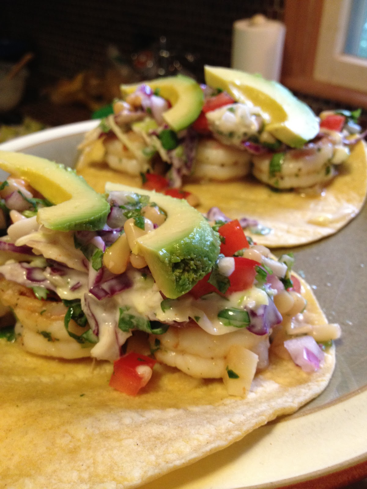 Shammy says july 2012 for Pioneer woman fish tacos