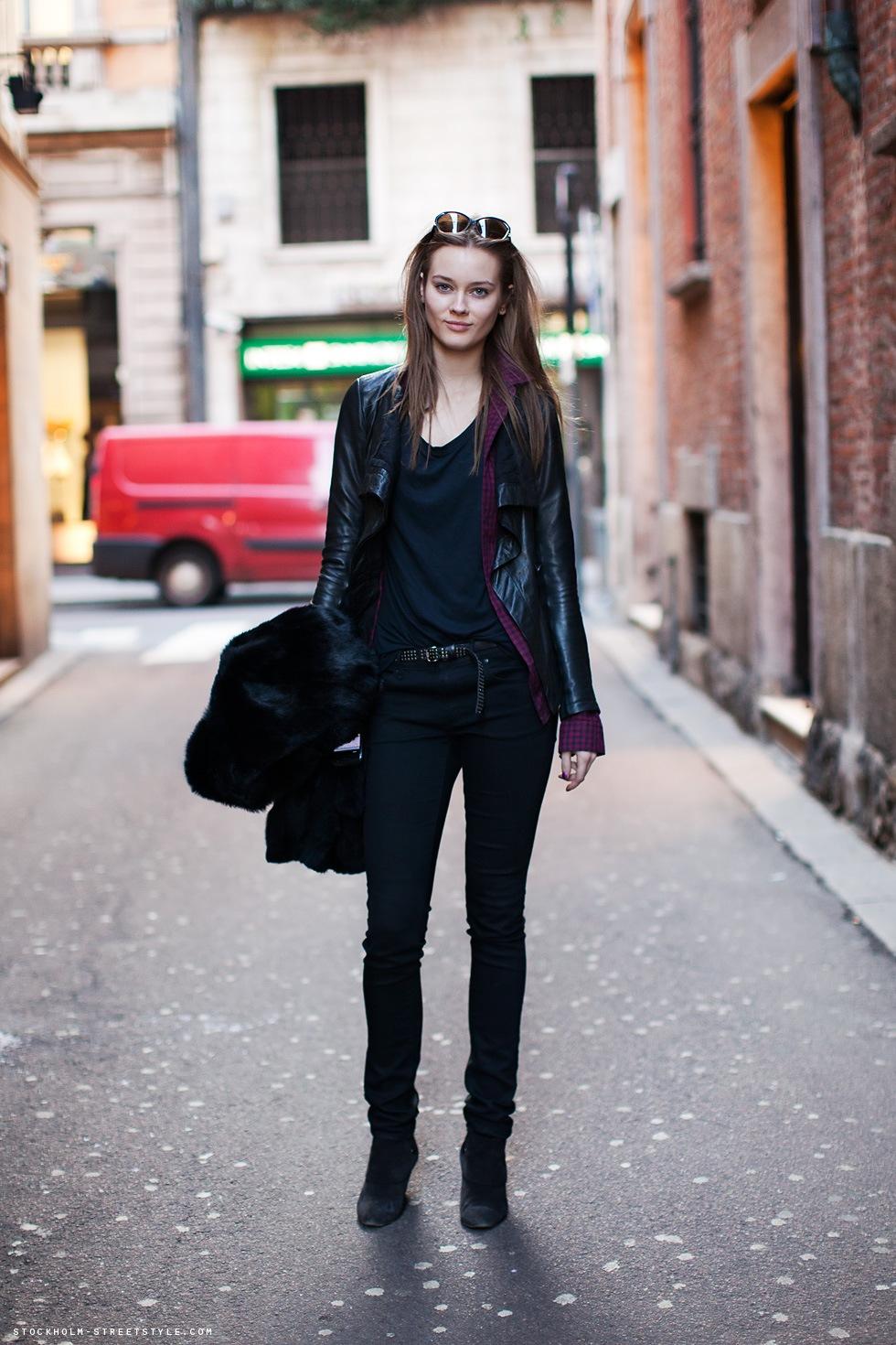 Fashion Fades Style Is Eternal Model Street Style