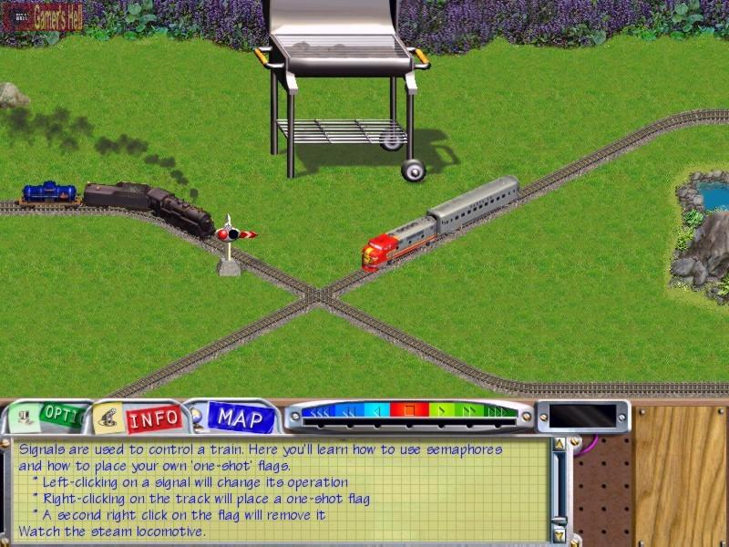 Lionel Trains On Track is a game inspired by the Lionel series of toy trains.