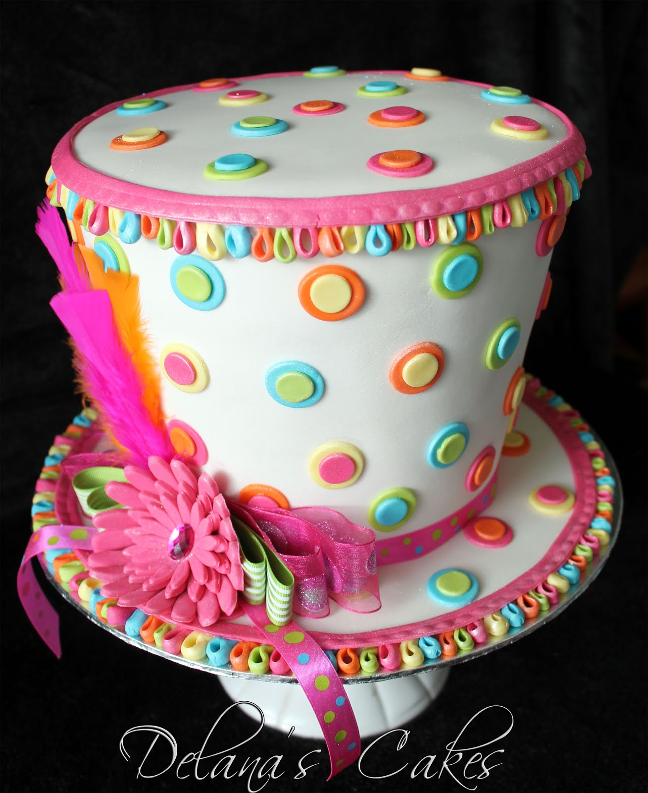 Delanas Cakes Mad Hatters Cake