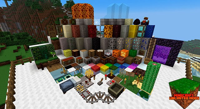 Sphax PureBDcraft Texture Pack todos los bloques